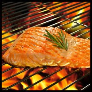 grilled salmon vitamin d