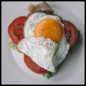cooked eggs vitamin a