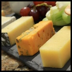 calcium rich cheese platter