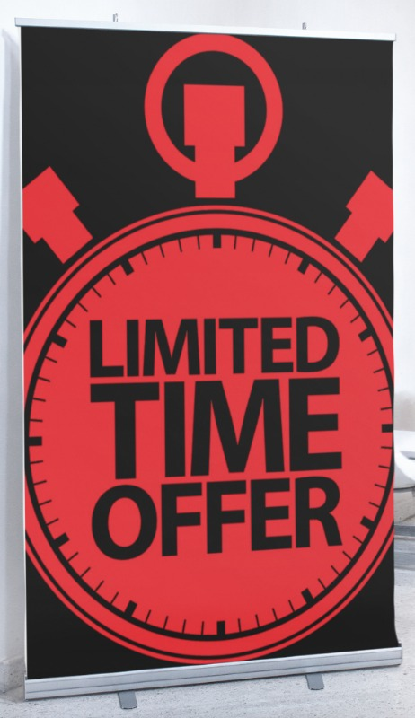 800 size limited time offer